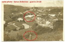08 - Senuc ( Ardennes )  -  Allemande Carte  Photo De La Guerre 14-18  WWI - Francia