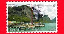 TAILANDIA - THAILAND - Usato - 2012 - Paesaggi - Zone Costiere - Panyi Island Phang-nga - 15 - Tailandia