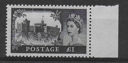 GB - YVERT N° 354A FILIGRANE O COURONNE ** MNH - COTE = 18 EUR. - 1952-.... (Elizabeth II)