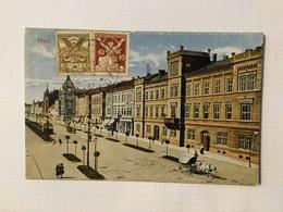 AK  CZECH REPUBLIC    PLZEN   1920 - Repubblica Ceca