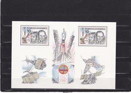 TCHECOSLOVAQUIE 1987 ESPACE INTERCOSMOS Yvert BF 73 NEUF** MNH - Tchécoslovaquie
