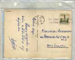 """Yugoslavia 1973 Ljubljana Postcards - Slogan / Flamme ,,NA SVAKO POSILJKO POSTNO STEVILJKO"""" Ljubljana Canceled - 1945-1992 Sozialistische Föderative Republik Jugoslawien"""