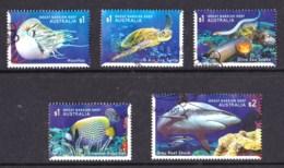 Australia 2018 Reef Safari Set Of 5 Used - 2010-... Elizabeth II