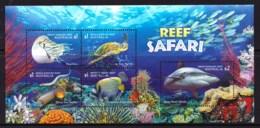 Australia 2018 Reef Safari Minisheet Used - 2010-... Elizabeth II