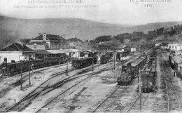 1182 - Cpa 15 Neussargues Gare - Vue D'ensemble De La Gare - Non Classés