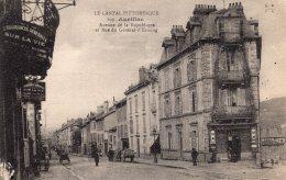 1190 - Cpa 15  Aurillac - Avenue De La République - Aurillac