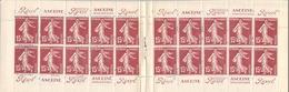 Carnet De 20 Timbres Neufs Semeuse 15 C N° 189 1924.1926.laboratoires Rolland Lyon - Carnets