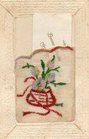 Carte Avec Pochette Contenant Une Petite Carte De Bonne Année - Destinaire Mr Et Mme Bon Binet à Canteloup  (Manche) - Nouvel An
