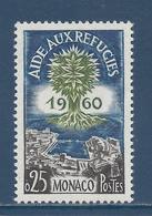 Monaco - YT N° 523 - Neuf Sans Charnière - 1960 - Monaco