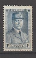 Algérie Française : N° 168 - Neuf *, Avec Charnière - Algérie (1924-1962)
