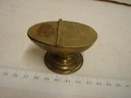 PL. 401. Mini Lampe à Huile En Laiton - Lamps