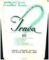 "B I/Buvard Bas ""IRNEA""  (Frt 21 X 16/14) (N=1) - Textile & Clothing"