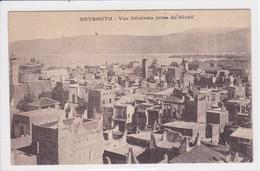 LIBAN BEYROUTH Vue Générale Prise Du Sérail - Lebanon