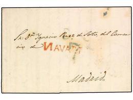 SPAIN: PREPHILATELIC MARKS  DP06 NAVARRA - Spagna