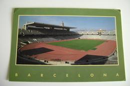 F.C.  BARCELONA   STADIO  STADE STADIUM STADT      VIAGGIATA  COME DA FOTO - Stadi