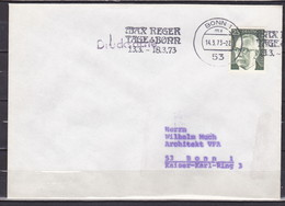 BRD, MiNr. 689 Auf Portoger. Drucksache In Bonn; B-1316 - [7] Federal Republic
