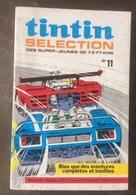 TINTIN SELECTION N°  11 (Michel Vaillant)  EDITIONS LOMBARD  MARS 1971 - BON ETAT - Michel Vaillant