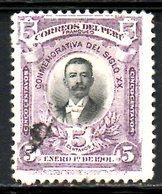 PEROU. N°129 Oblitéré De 1901. Lopez De Romana. - Peru