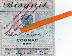 Militaria 39-45 Occupation Allemande:cognac Barnett;Bisquit-Dubouché:2 Etiquettes Réservées à La Wehrmacht ;voir Scan - 1939-45