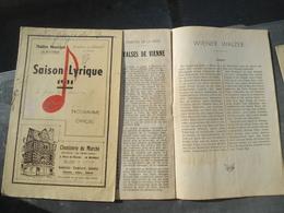 Programmes 1941 La Rochelle Kriegsmarine - 1939-45