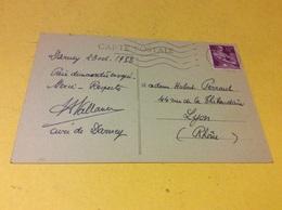 DARNEY. Intérieur De L'eglise Voir VERSO ENVOI Par Le Curé En 1952 - Darney