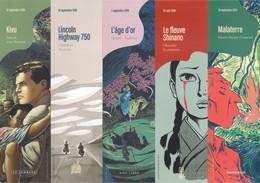 """5 Marque Page.  BD.  Série """"les Romans Graphiques"""".  Dargaud, Le Lombard,... - Marque-Pages"""