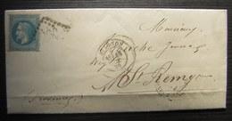 Avignon 1870 Lettre Pour Saint Rémy (provence) - 1849-1876: Klassik