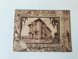 Publicité HOTEL WINDSOR - JUAN LES PINS - Dépliants Touristiques