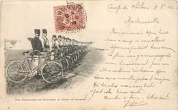 Une Compagnie De Cyclistes Au Camp De CHALONS - Librairie Militaire Guérin Mourmelon Précurseur - Regiments