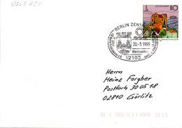 "BRD Amtl. GZS-Umschlag USo 5AIY, Sonderstempelbeleg ""50 Jahre BSV Berlin-Friedrichshain"" SSt BERLIN ZENTRUM, 20.2.1999 - BRD"