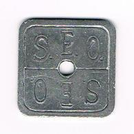 &  OUDE JETON S.E.O. ( COO ) OOSTENDE - Monetary / Of Necessity