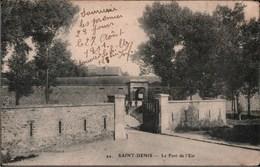 ! 93 , Alte Ansichtskarte Saint Denis, Le Fort De L`Est, Festung, Fortress, Militaria - Saint Denis