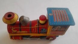 Giocattolo D'epoca -  GE001 - Locomotiva Di Latta BELL RINGER - Giocattoli Antichi