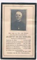 Dp. Pastoor. Van Den Couwelaer Jan Baptist. ° Meir 1856 † Minderhout 1916 - Religion & Esotericism
