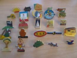 A Prix Cassé !!! LOT19-047 De 25 Pin's En Très Bon état , Tous Différents , Avec Leurs Attaches - Badges