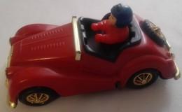 Giocattolo D'epoca - GE003 - Automobilina Di Plastica Con Guidatore - Giocattoli Antichi