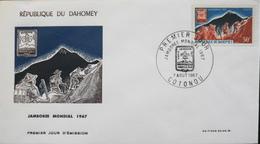 Rép. Du DAHOMEY - 1er JOUR 1967 - Jamborée Mondial 1967 - Daté : Cotonou 7.8.1967 - TBE - Bénin – Dahomey (1960-...)