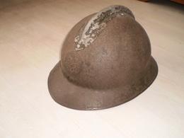 CASQUE ADRIAN MODELE 1926 SERVICE DE SANTE - Headpieces, Headdresses