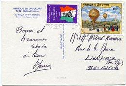 Côte D'Ivoire - Postcard - Carte Postale - Ivory Coast (1960-...)