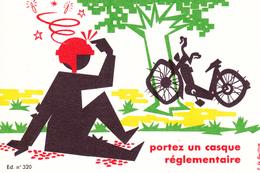 """Pub Sécurité Routière 2 Roues """" Portez Un Casque Règlementaire"""" (1966) - Publicidad"""