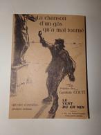 La Chanson D'un Gâs Qu'a Mal Tourné Poésies De Gaston Couté Vol 1 , 131 Pages - Poésie