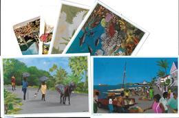Images Des ANTILLES  Lot De 6 Cartes Cpm-scans R/v Des 6  Cartes- *PRIX FIXE - Antilles