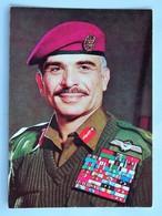 C.P.A. : JORDANIE : Roi HUSSEIN ,Mai 1987 - Jordanie