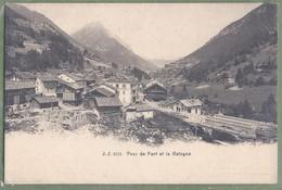 CPA - SUISSE - VALAIS - PRAZ DE FORT ET DE CATOGNE - éditeur J.J. / 2551 - VS Valais