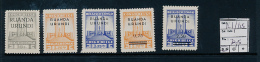 RUANDA URUNDI COB 121/125 MNH - 1924-44: Neufs
