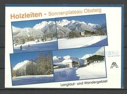 AUSTRIA Skidorf HOLZLEITEN Obersteig Tirol (gesendet 1999, Mit Briefmarke) - Österreich
