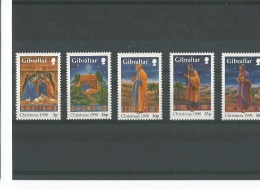GIBRALTAR 1998 - YT N° 848/852 NEUF SANS CHARNIERE ** (MNH) GOMME D'ORIGINE LUXE - Gibraltar