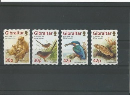 GIBRALTAR 1999 - YT N° 853/856 NEUF SANS CHARNIERE ** (MNH) GOMME D'ORIGINE LUXE - Gibraltar