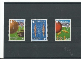 GIBRALTAR 1999 - YT N° 891/893 NEUF SANS CHARNIERE ** (MNH) GOMME D'ORIGINE LUXE - Gibraltar