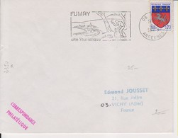 1969 France 08 Ardennes Fumay Flamme 'Cite' Touristique' - Postmark Collection (Covers)